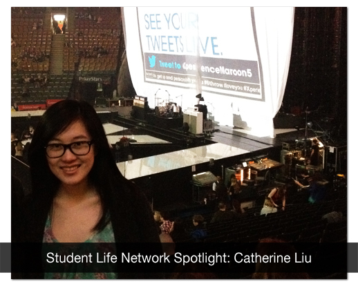 Catherine Liu won two tickets to see Maroon 5 live in concert in Toronto.