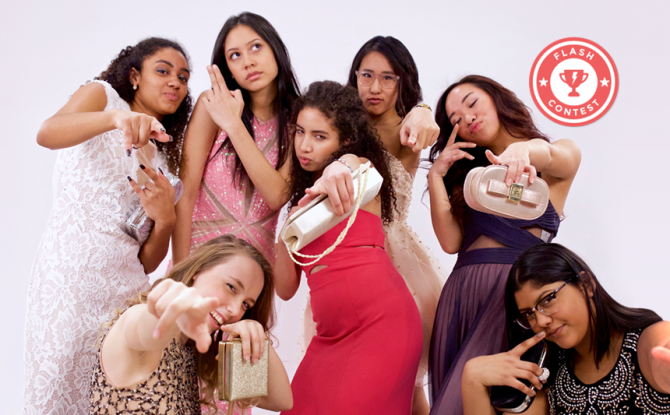 Here's Our Exclusive Prom Shoot With 7 Lucky SLN'ers + Your Chance To Win $500 From HBC