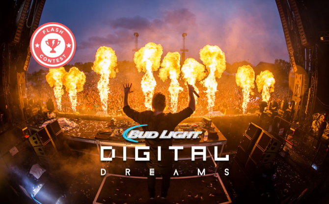 FLASH GIVEAWAY: Win a VIP Experience for 2 to Digital Dreams