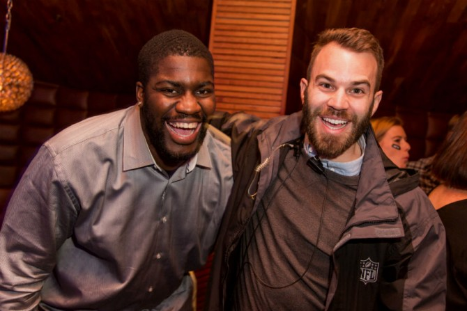 Q&A: From Small Town Boy to Entrepreneur to the NFL