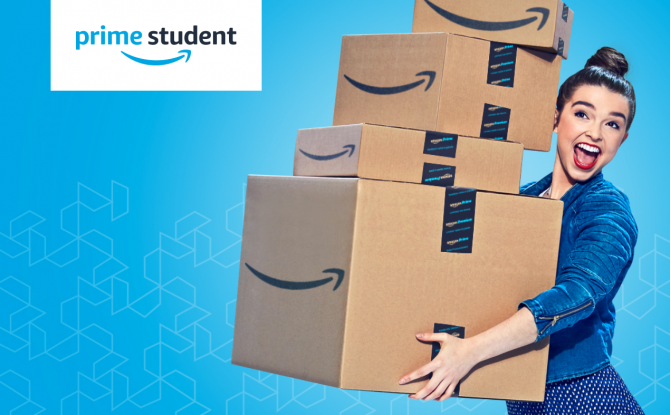 There's Being a Student, Then There's Being an Amazon Prime Student (It's Better)