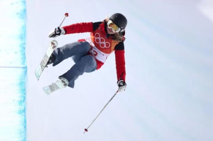 athletes Olympics sport freestyle skier Elizabeth Swaney PyeongChang through a loophole.