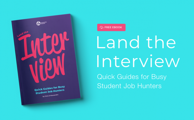 Our Free E-Book Helps You Get More Job Interviews