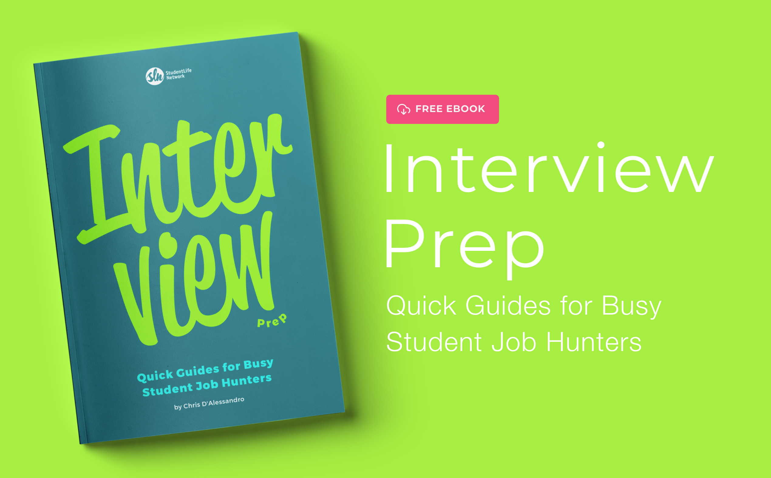 Our Free E-Book Helps You Prepare For Your Job Interview
