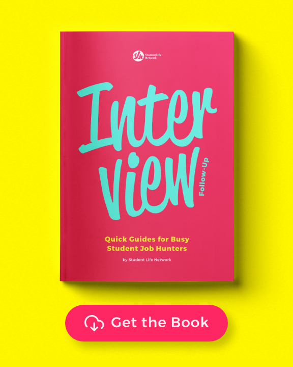 Our Free eBook Helps You Follow Up After Your Job Interview