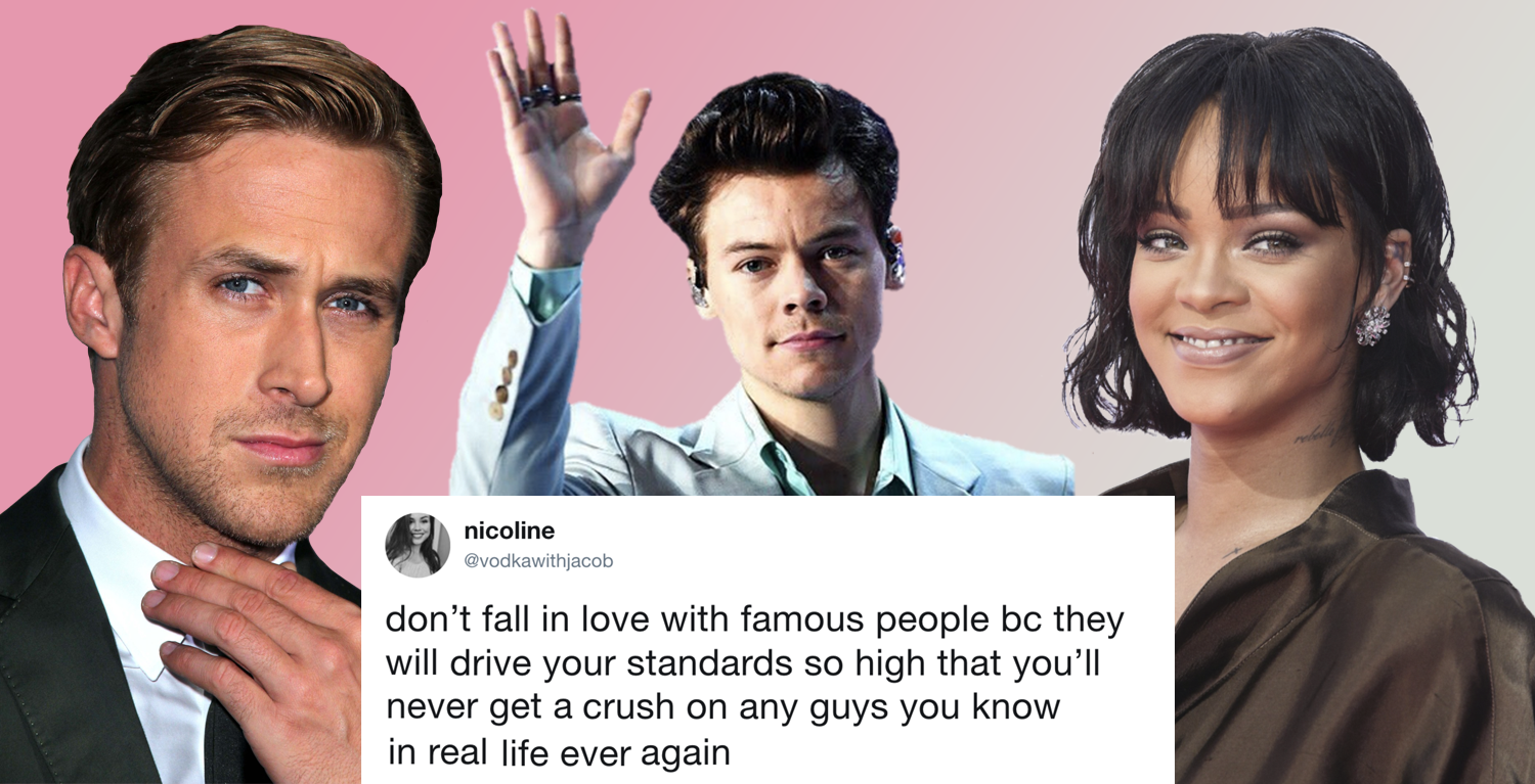 Your Celebrity Crush Might be Ruining Your Love Life