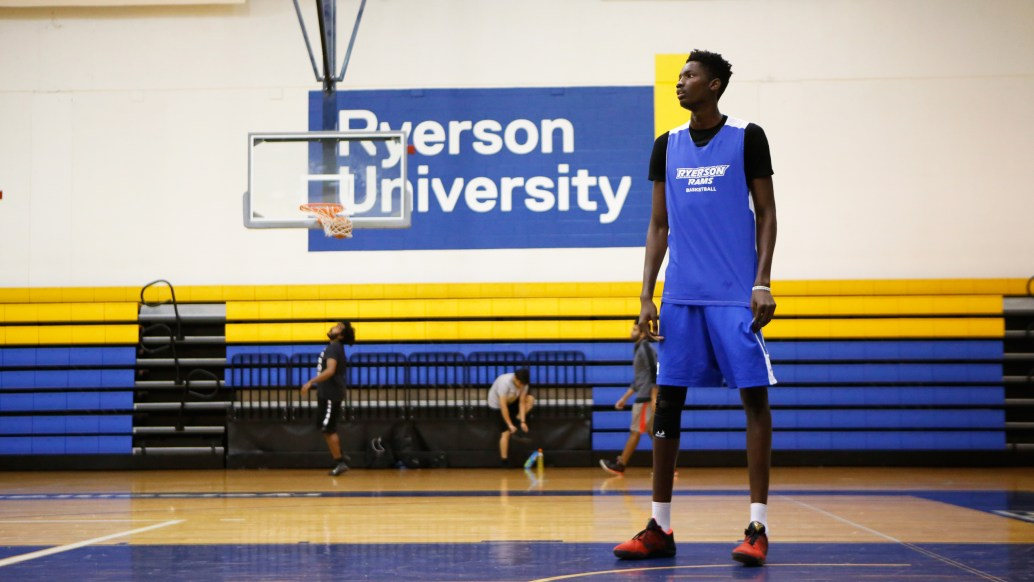 Tanor Ngom Basketball Ryerson