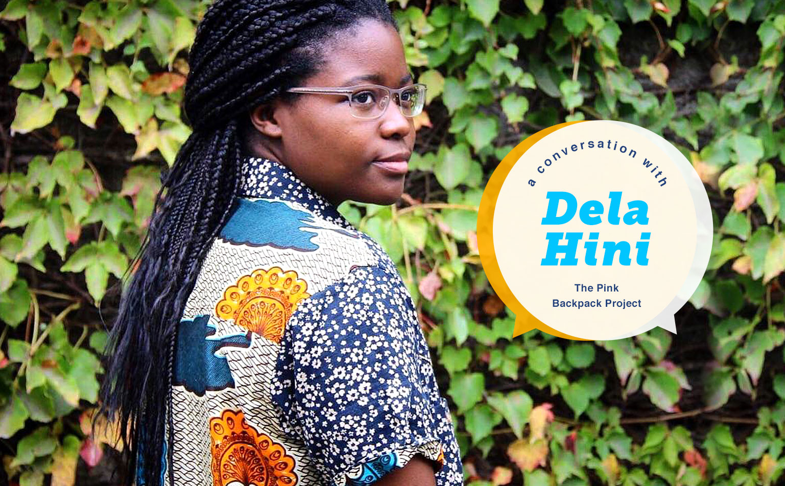 Interview With SLN's Peace & Justice Scholarship Winner Dela Hini
