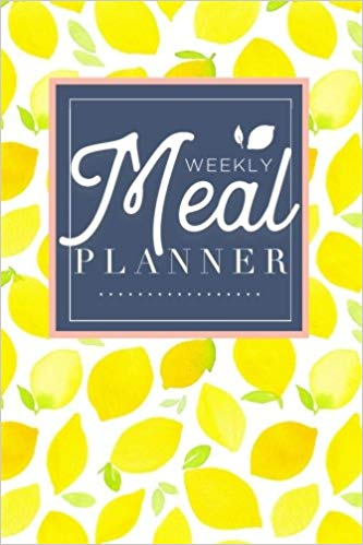 yellow meal planner