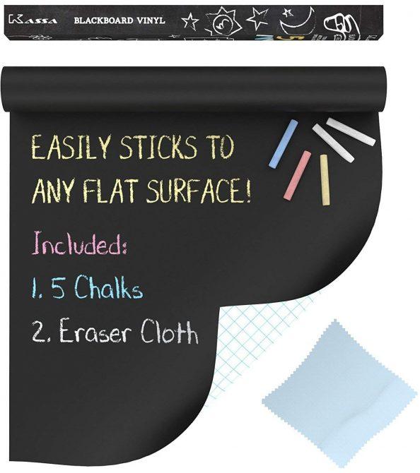 sticker chalkboard