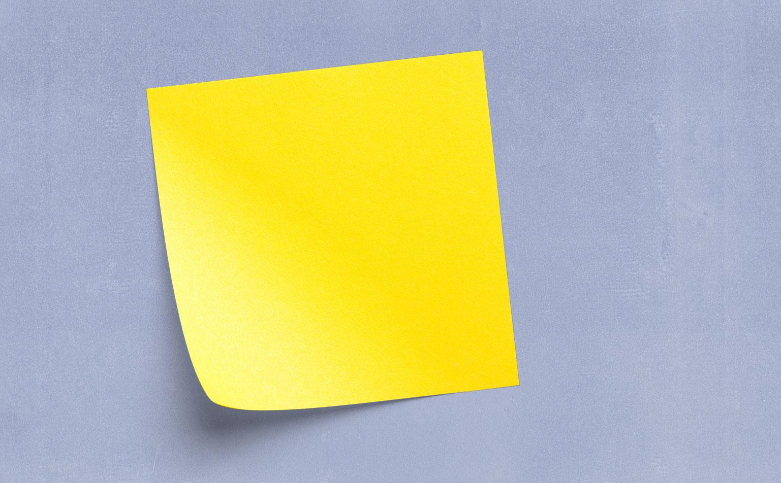 15 Ways To Use Sticky Notes