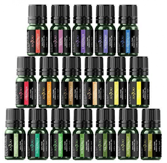 essential oils package