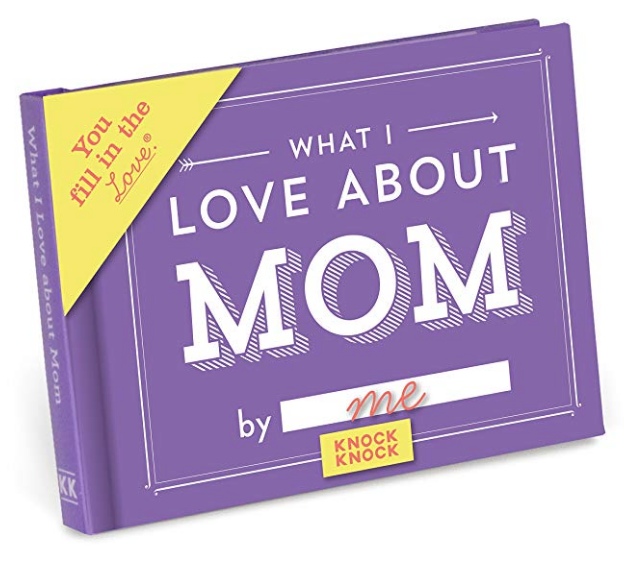 """What I Love About Mom"" Book"