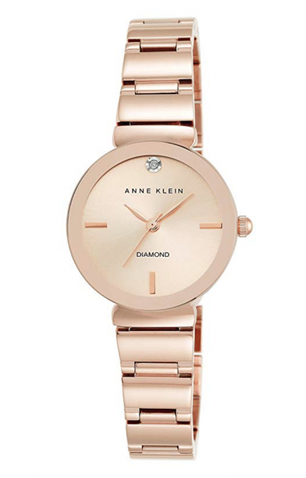 anne klein rosegold watch