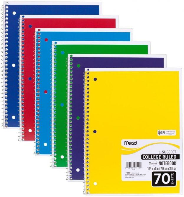 bright notebooks