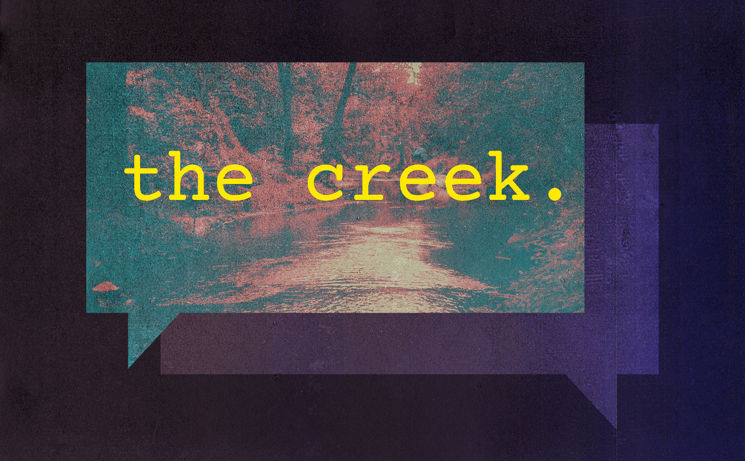 The Creek: A Serial-Like Podcast Produced By High School Students