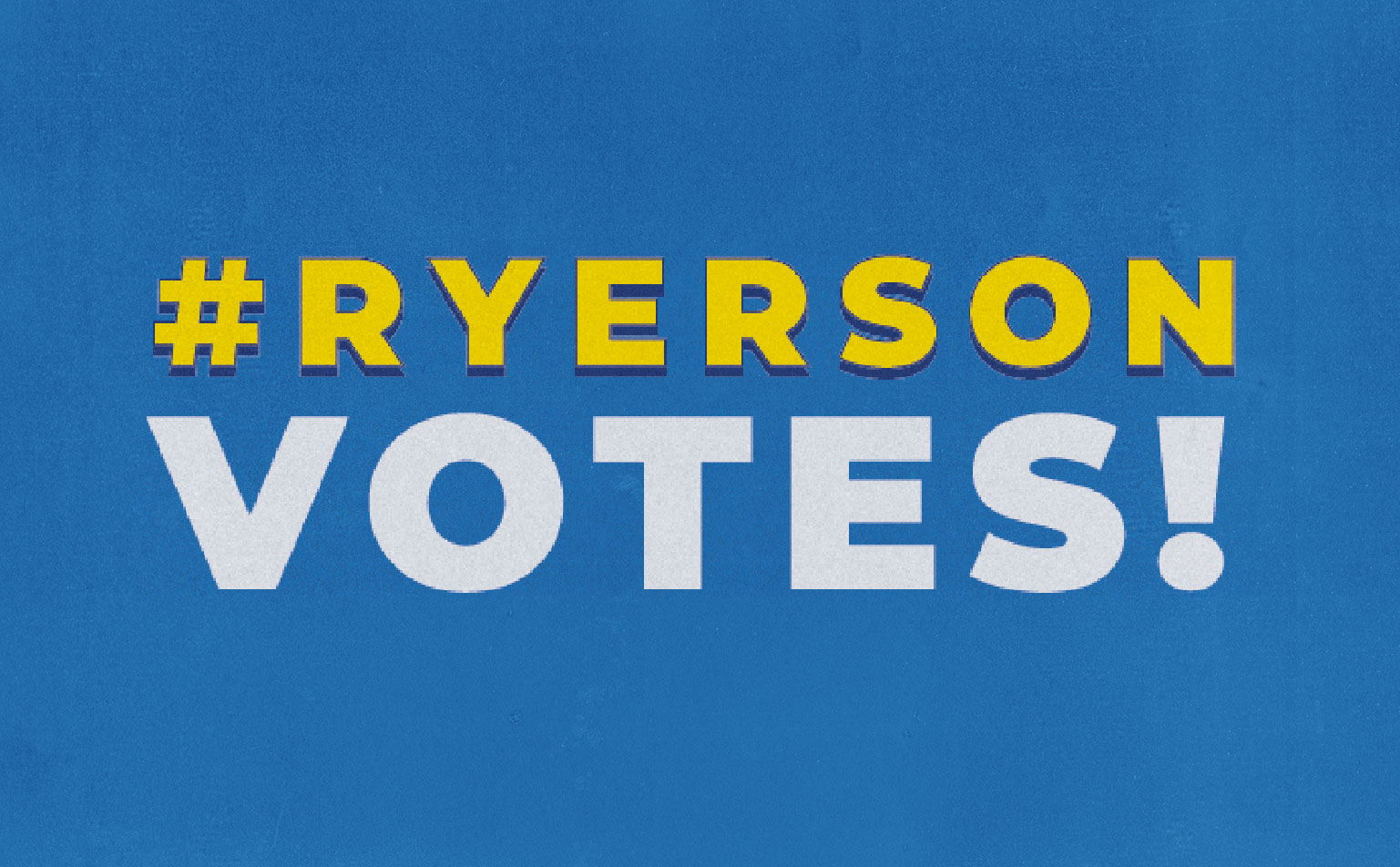 RyersonVotes Aims To Increase Youth Voter Engagement On Campus