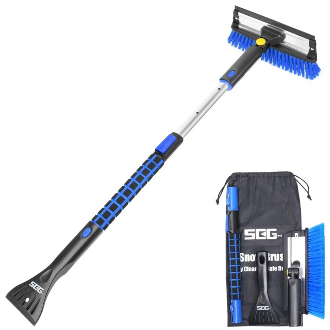 car snow brush