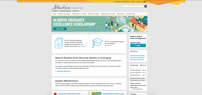 Student grants and loans