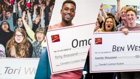 Canada's Luckiest Student winners