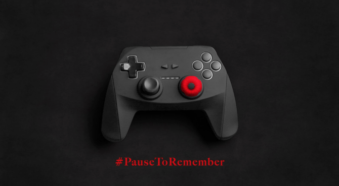 pause to remember, video game controller