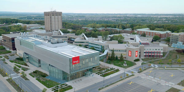 Virtual campus Brock University tours in Ontario