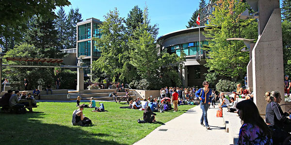 Capilano University tours in British Columbia campus virtual