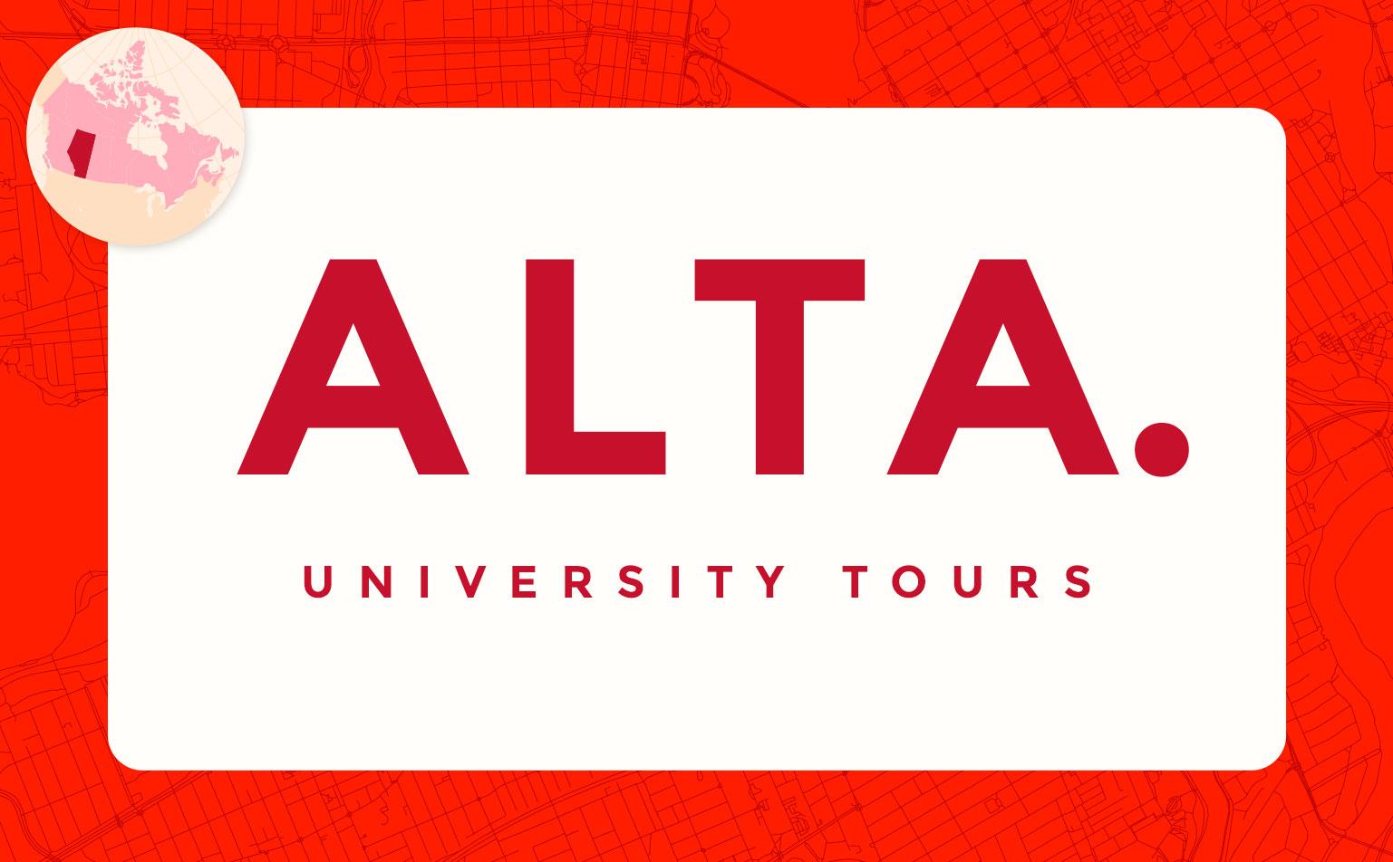 virtual campus university tours in alberta