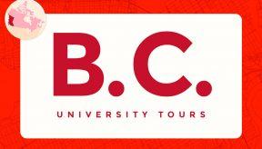 virtual campus university tours in British Columbia BC