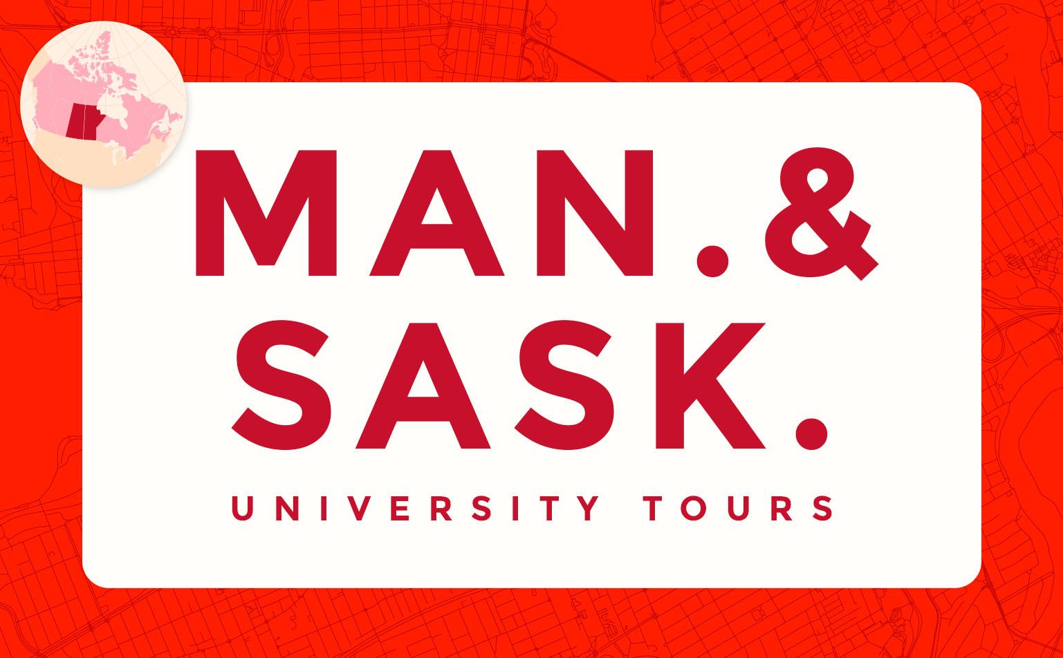 virtual campus university tours in Saskatchewan and Manitoba