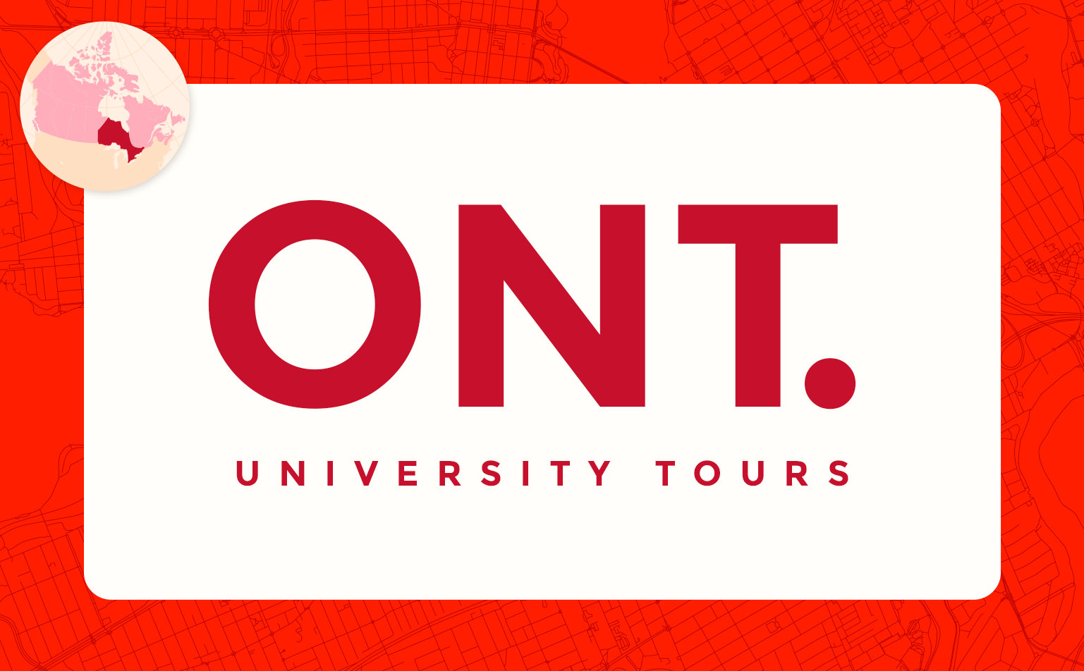 virtual campus university tours in Ontario