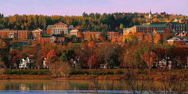virtual campus University of New Brunswick UNB university tours in New Brunswick