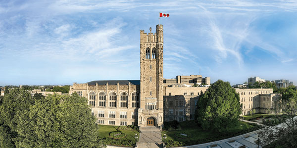 virtual campus Western University tours in Ontario