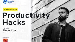 Hamza Khan Productivity Hacks SLN Workshops