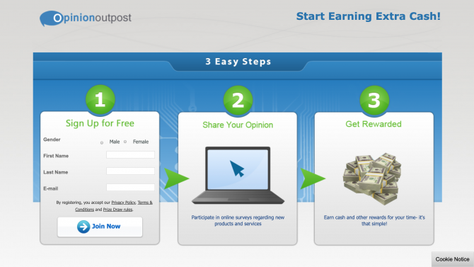 make money from home with paid surveys