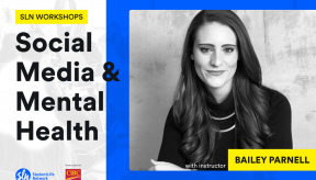 Bailey Parnell social media and mental health sln workshops