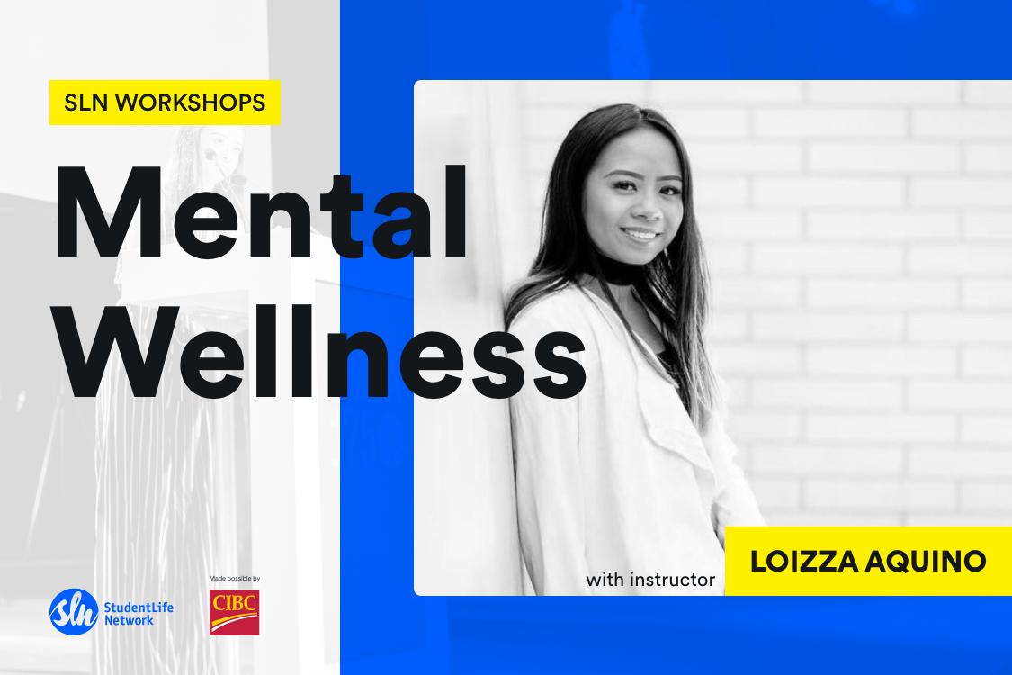 Loizza Aquino SLN Workshops mental wellness